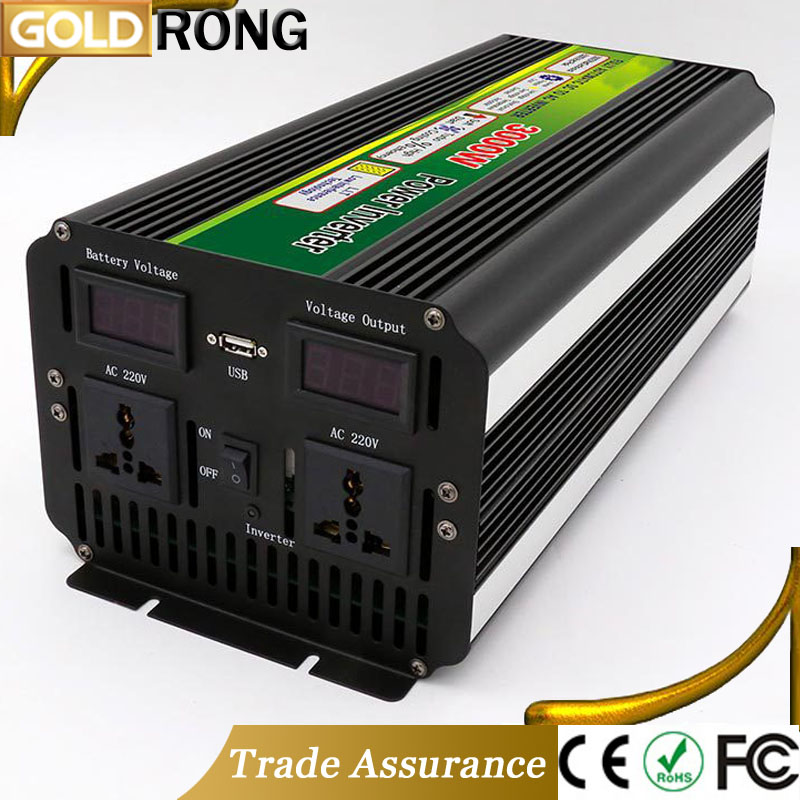 6000W Peak Power Supply Single Phase Industrial Solar Power Inverter 3000W With DC 12V AC 220V Circuit Diagram