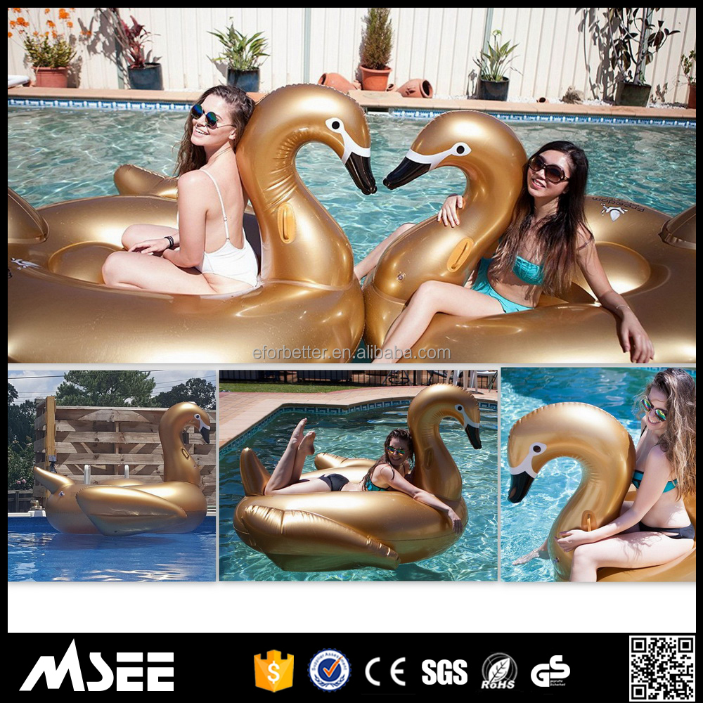 Top inflatable swan inflatable giant swan swan pool float