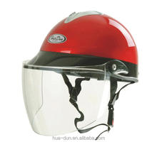 HD half face cheap price anti-scratch summer use visor motorcycle helmet