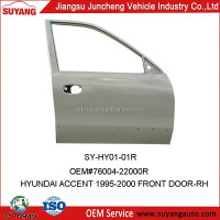 Car Metal Body Part Front Door for Hyundai Accent 1997