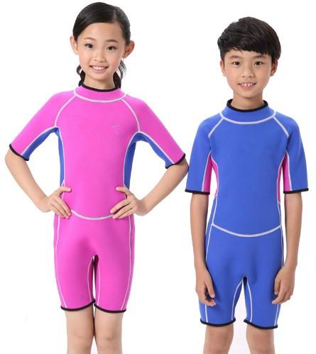 Kids One Piece Rash Guard Jumpsuit Rashguard Swimming Diving Swimsuit Wetsuit