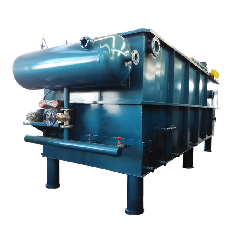Dissolved Air Flotation Machine for Textile Wastewater Pretreatment with Low Investment