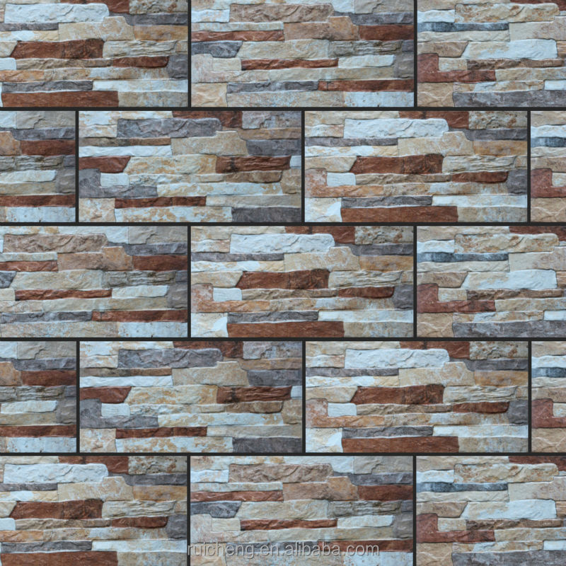 Stone Brick Exterior Ceramic Wall Tiles