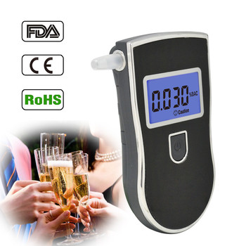 Most popular for drivers: Display breathalyser with 5 mouthpieces alcohol meter supplier wholesale