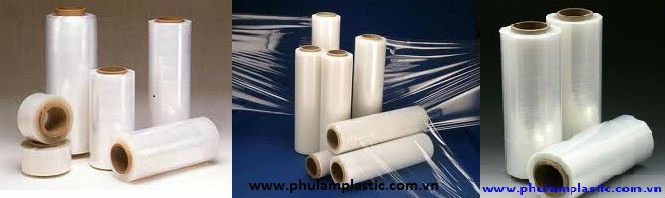LDPE Wrap film Stretch film machine film handle film 450mm x 320m, 20 microns