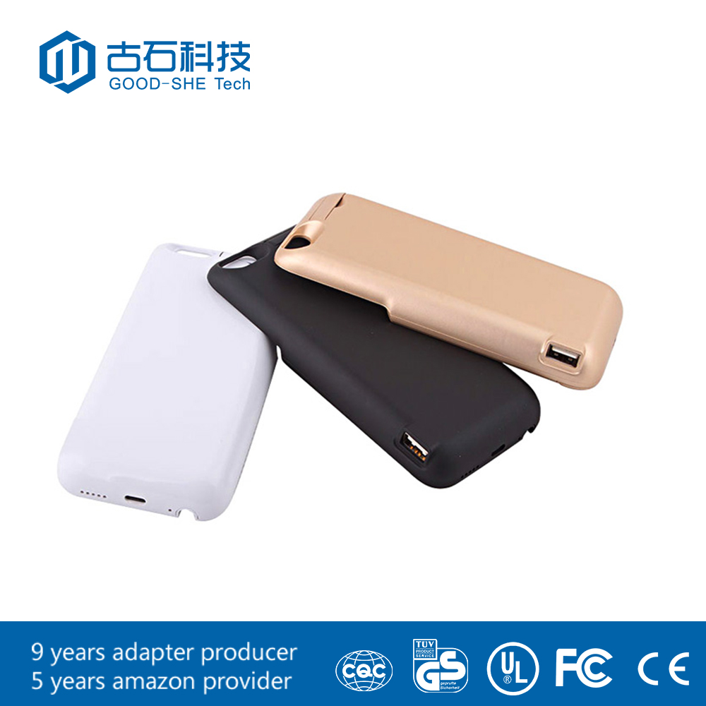 power bank usb 2500mAh power case bank in black and white external for sansung and xiaomi