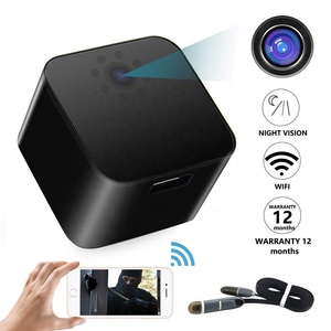 2018 Newest Home Security System 128GB HD 1080P Night Vision Hidden Camera Wireless Charger