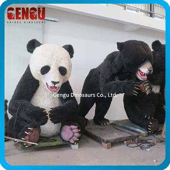 Cute 3D Animal Model Life-size Animatronic Animal