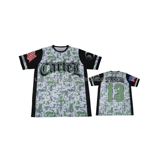 DIY your team sublimated dri fit softball jersey