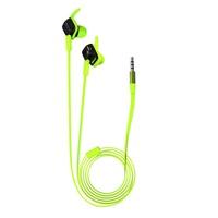 Jabees OEM 1.2m Long Flat Cord Game Sport Runnning Waterproof Wired Headphone