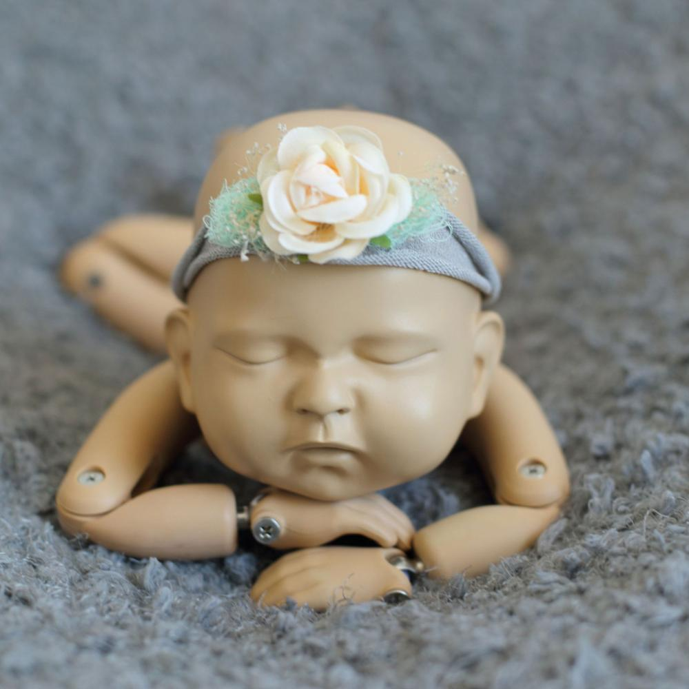 Lifelike baby Doll Photography Props Posing Baby Doll Articulate Ball- Joint Doll Posing Props Infant Props фото