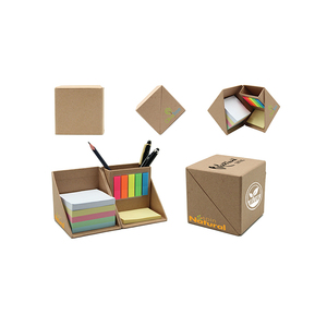 Corporate gift items in china for sticky notes with notebook custom logo