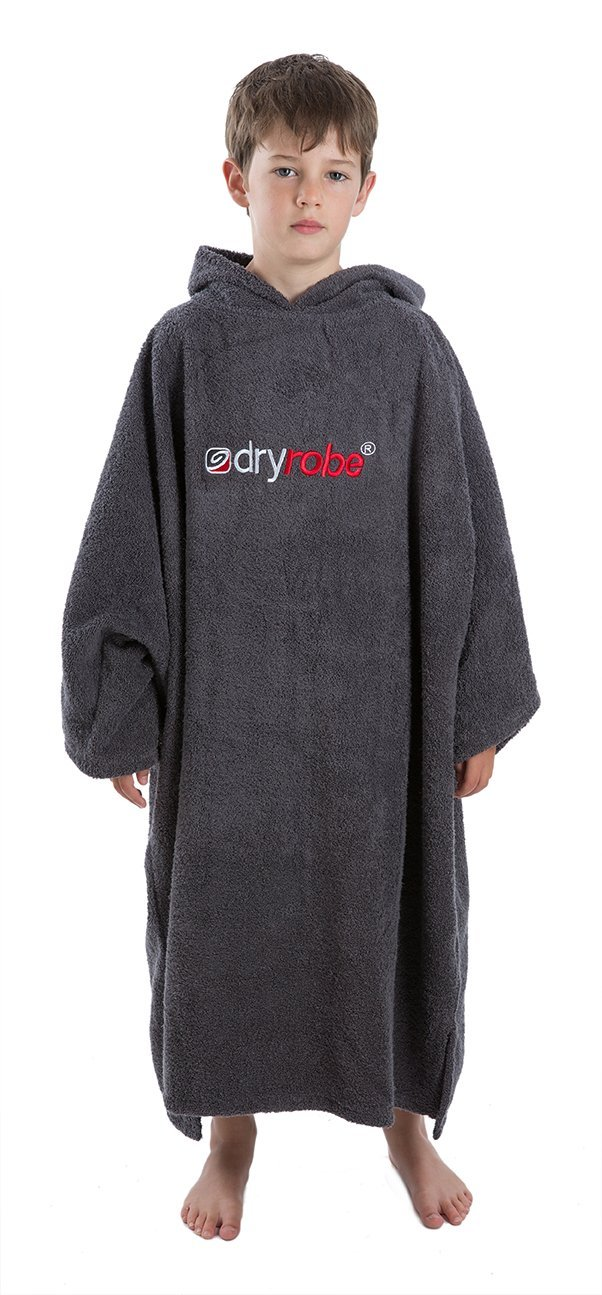 Get Quotations Dryrobe Kids Beach Towel Changing Robe Short Sleeve Towelling Change Poncho Dry One