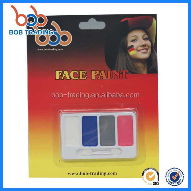 nice service fashion Germany series face paint free sample spray black face paint