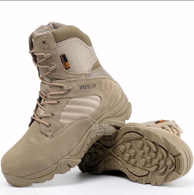 Buy Delta Brand Men Military Tactical Boots Desert Combat