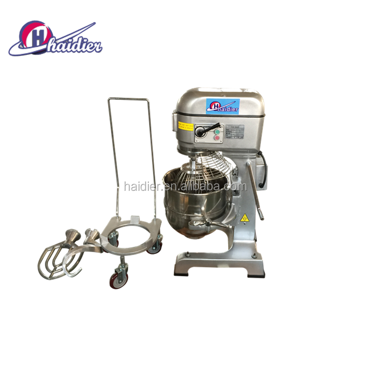 cake mixing machine industrial planetary mixer 80L