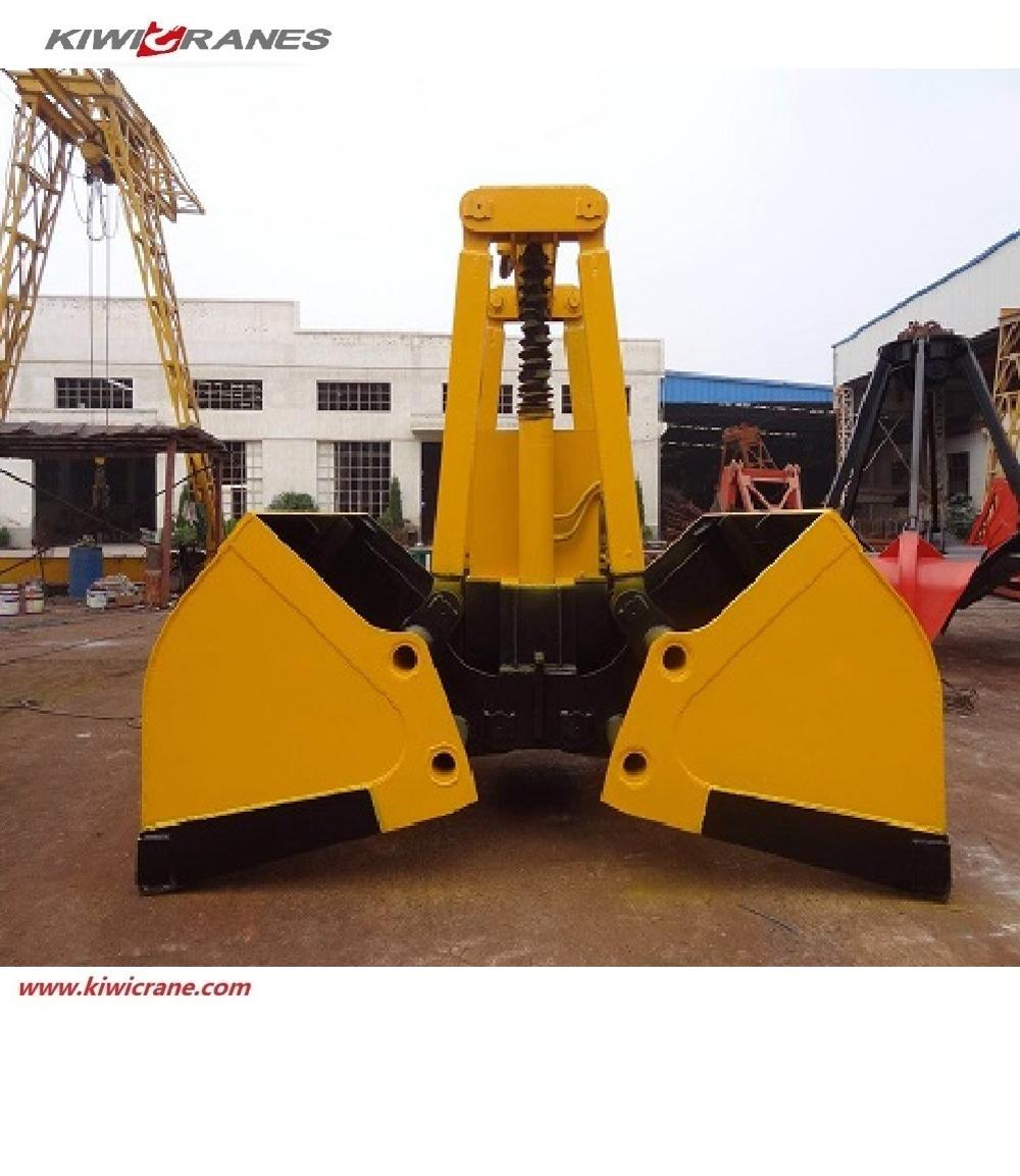 Wireless remote control electric grab bucket machine for crane