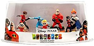 The Incredibles Disney / Pixar Exclusive 7 Piece Deluxe PVC Figurine Playset ...