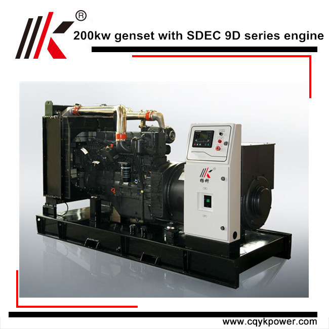 200KW DIESEL GENERATOR PRICE CONTAINS BEST PARTS FROM CHINA WITH PETER BEST ENGINE FOR CHOICE
