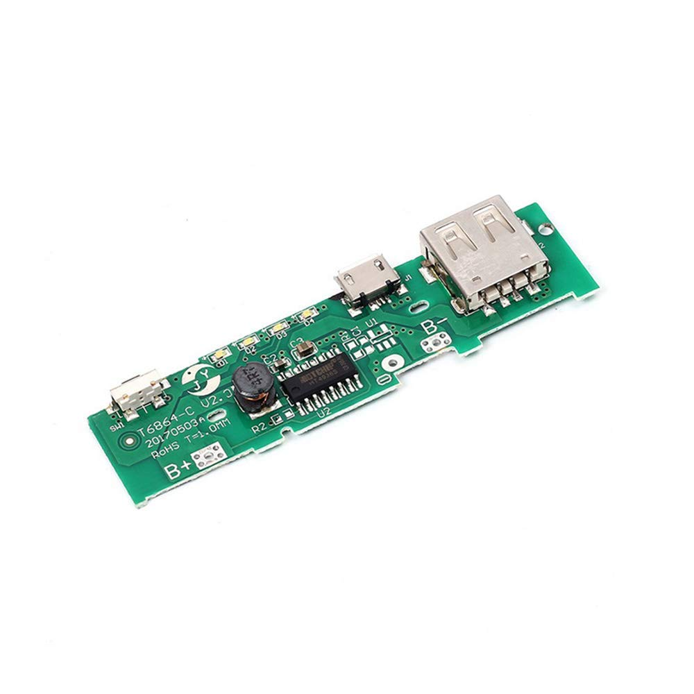 Cheap 9v Battery Charging Circuit Find How To Make A Nimh Nicd Charger Homemade Get Quotations 3pcs 5v 1a Power Bank Board Pcb Step Up Boost Module