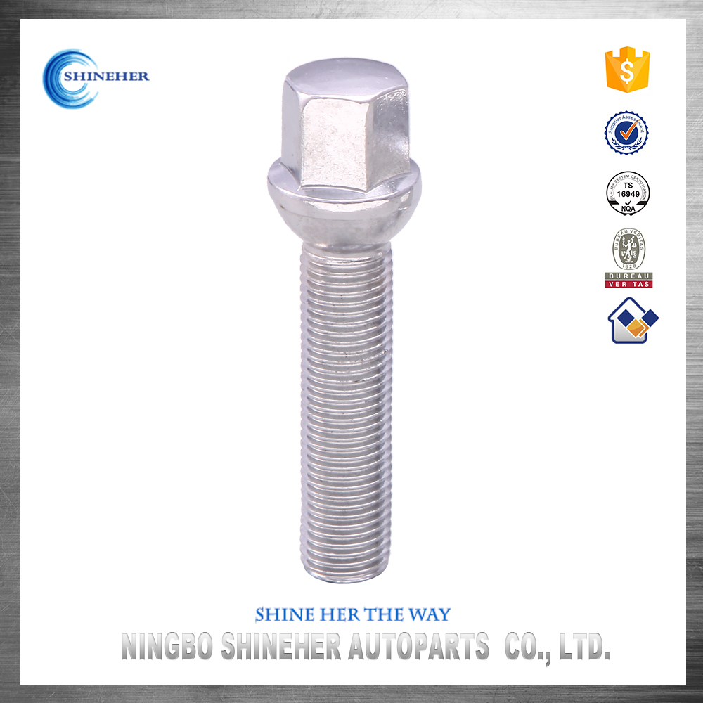 Standard Ribbed Spacer TireTitanium Long Hex Head Bolts