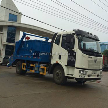 Euro Ii Howo Dongfeng Isuzu Garbage Truck 2 Axles Swing Arm Mini
