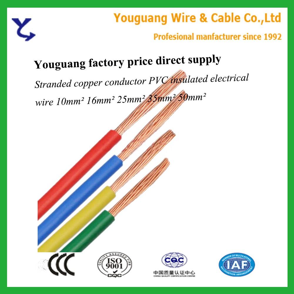 China 16mm Pvc Wire Wholesale Alibaba Flameretardant Flexible Copper Electrical Bv Bvvb Bvr