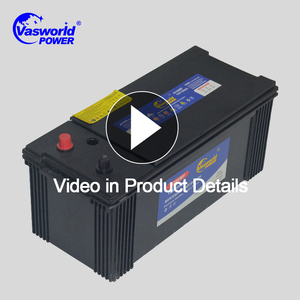 factory price maintenance free battery electric bus truck car battery dry charged 200ah car power