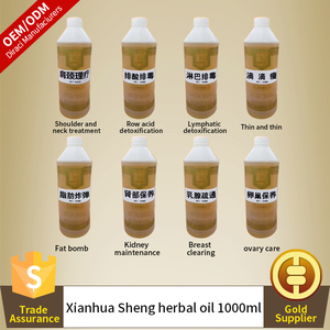 OEM OUBIQUAN Chinese herbal medcines seed oil 8 kinds of Chinese medicine oil optional 1000ml