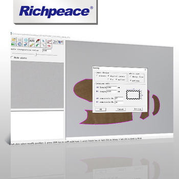 Richpeace photo digitizing CAD software