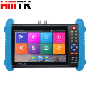 7 inch 5MP TVI , 4M ,1080P AHD, IP camera HD CCTV Testers with RJ45 cable TDR test