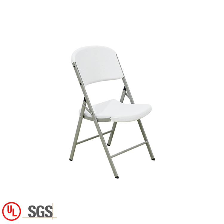 Cheap outdoor plastic folding chairs / folding white plastic chairs