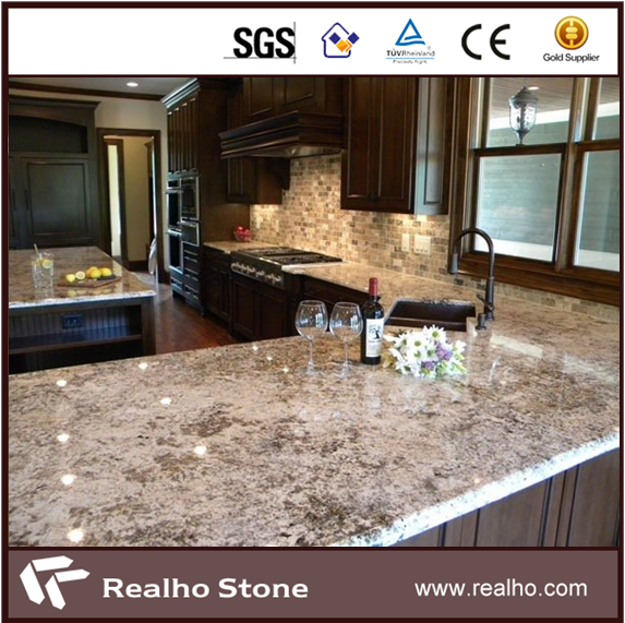 2cm White Color Bianco Antico Granite Countertop