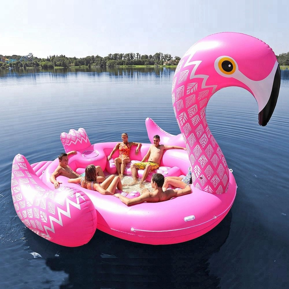 Custom giant floating inflatable plastic flamingo/ inflatable flamingo pool toy/<strong>water</strong> floating inflatable flamingo