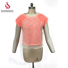 Antique promotional women casual cheap wholesale women's polyester / cotton tank top t-shirts printing