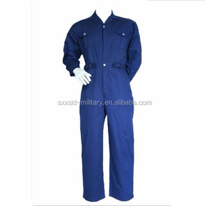 work wear factory uniform flame retardant coverall safety overall with factory price