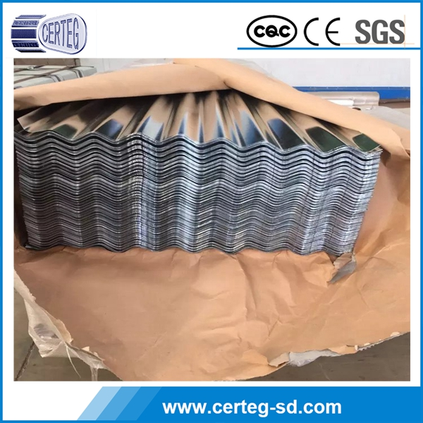 corrugated sheet/coil Building material all type high quality metal roofing sheet
