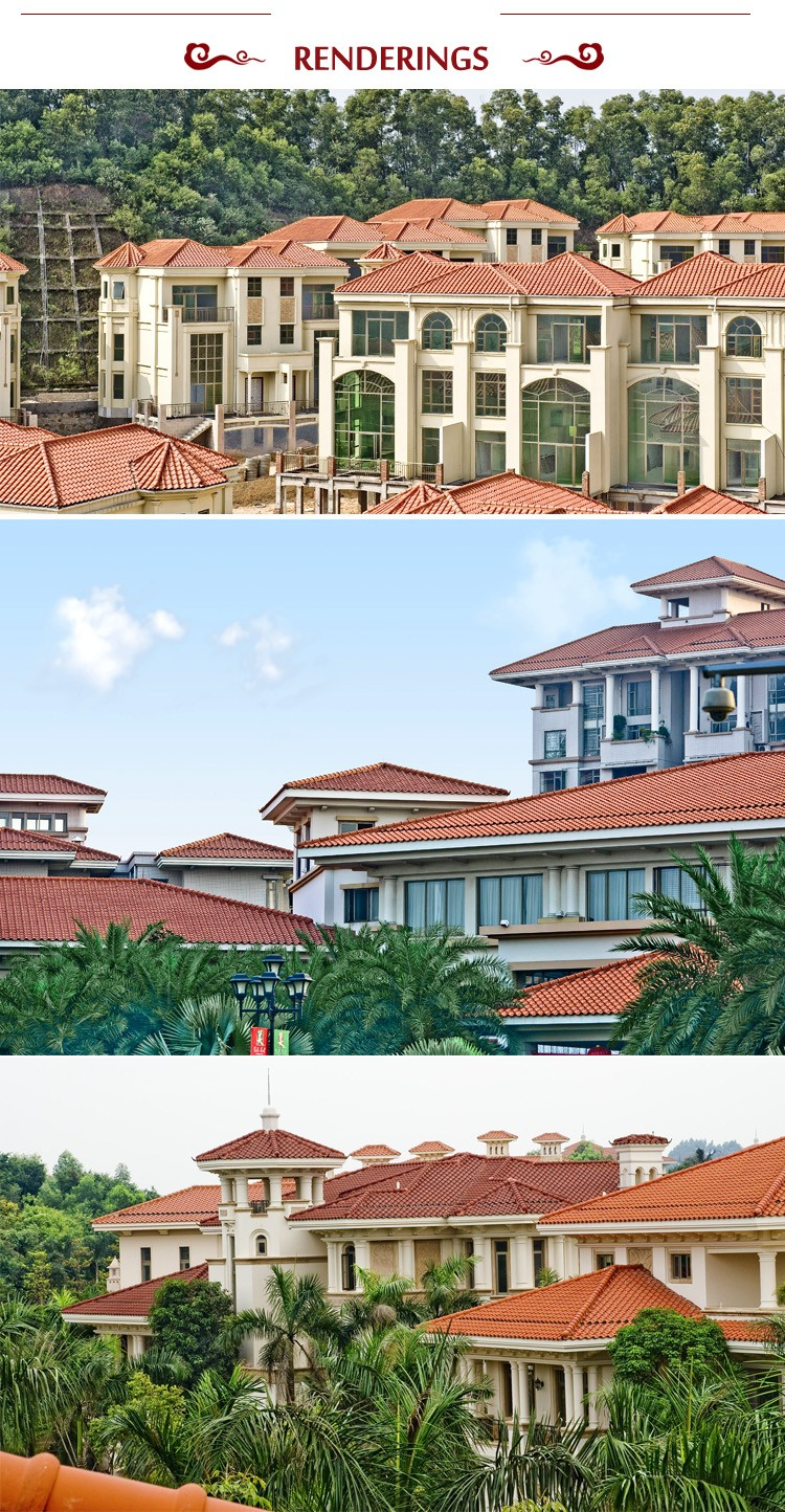 S1 Heavy Roof Tiles Ceramic Clay Roof Tiles Malaysia