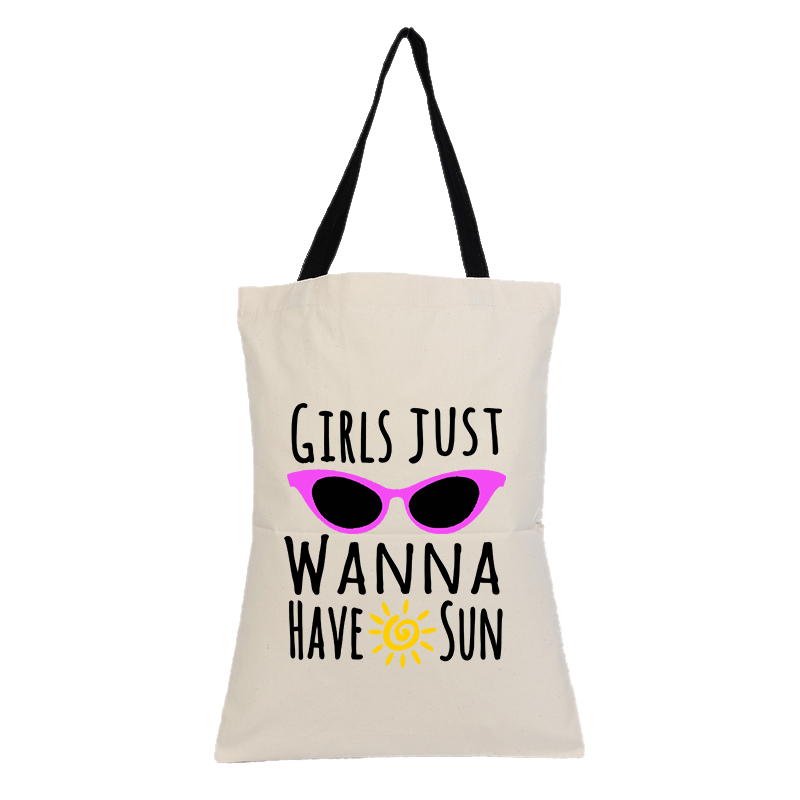 Hot Selling Personalized Eco Canvas Reusable Promotional Tote Bag