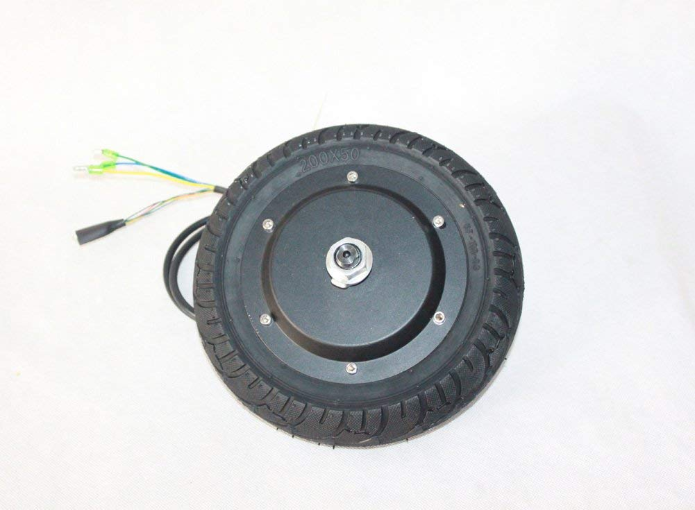 """24V36V48V 350W Electric Scooter Hub Motor With Tyre 200MM Electric Brushless Motor No Gear 8"""" Electric Kickscooter Wheel With Tire"""