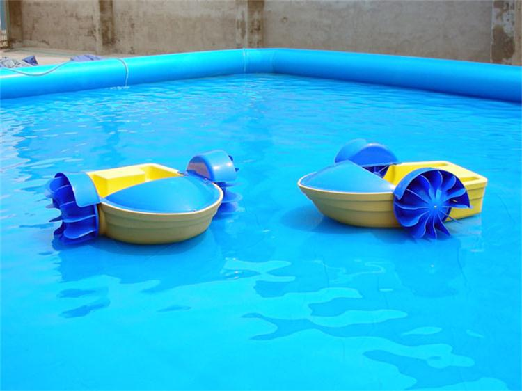 Water Proof Plastic Small Hand Pedal Boatkids Paddle Boats For Sale With CE