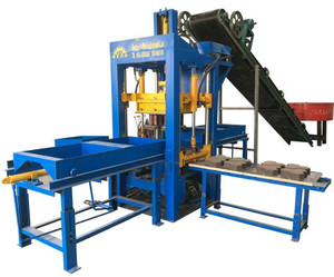 Small Construction Equipment QT4-25 Paving Brick Making Machine