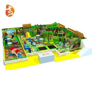 Factory Supply Attractive Colorful Kids Plastic Indoor Playground