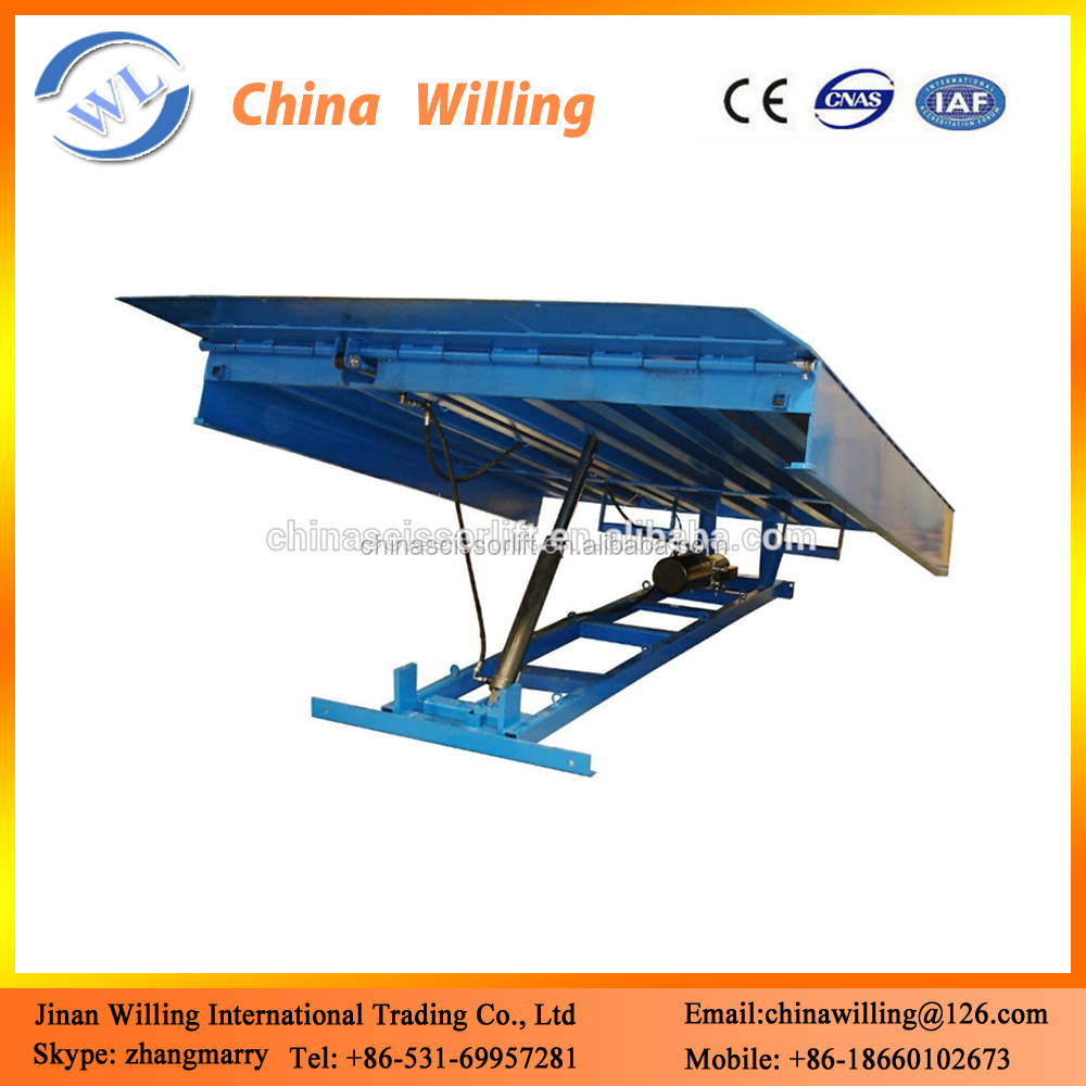 Electric Hydraulic Loading Dock Leveler / Power Hydraulic Tailgate ...