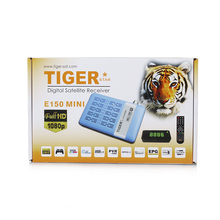 Hot Selling Full HD1080P IPTV Tiger Digital Satellite Receiver E150 MINI