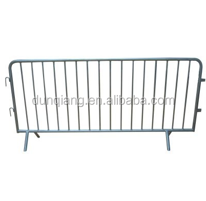 galvanized steel crowd control barriers for traffic safety