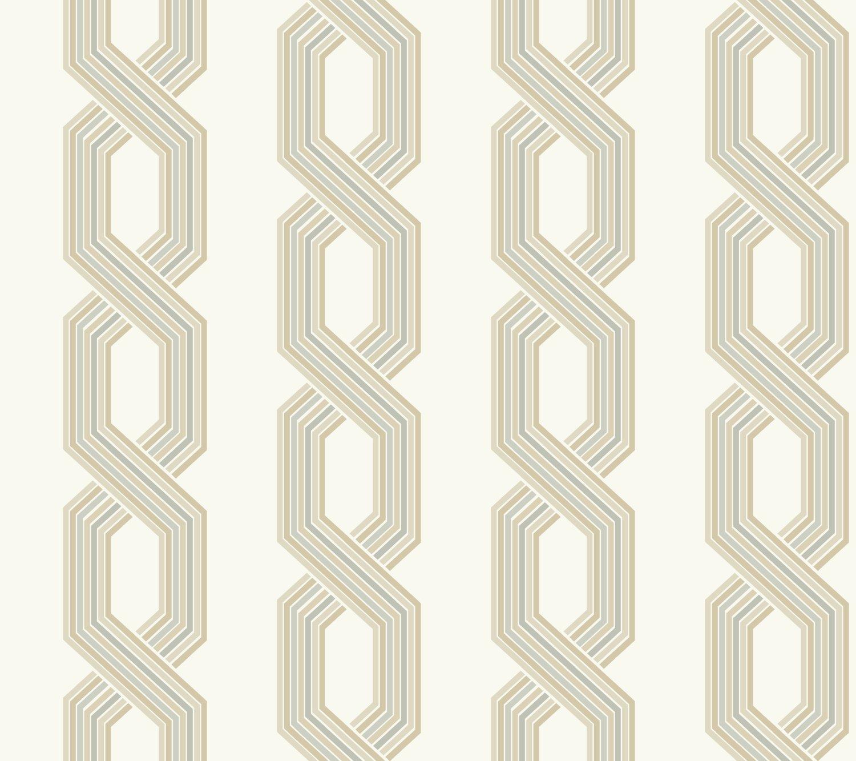 Buy York Wallcoverings Ge3680 Wallpaper Ashford Geometrics