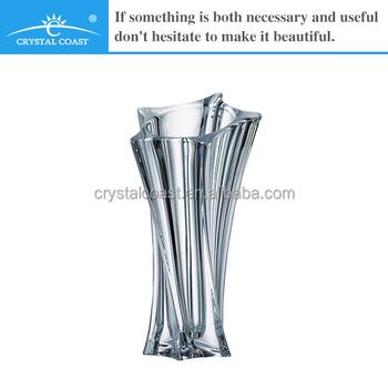 Cheap Antique Twisted Bohemia Lead Crystal Vase Buy Lead Crystal