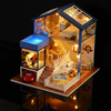 Miniature Wooden Doll model House With DIY Furniture Fidget Toys For Kids Children Birthday Gift Seattle