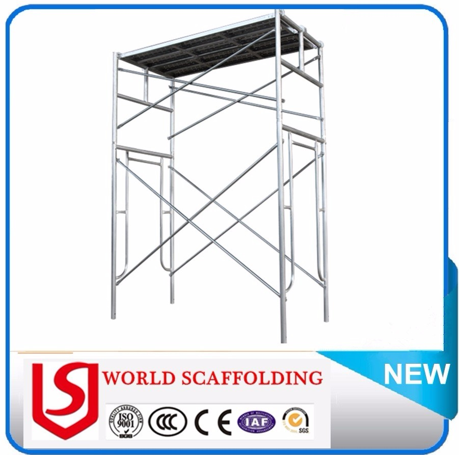 building construction tools Galvanized H Frame Scaffolding